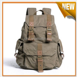 Factory custom canvas polyester military backpack