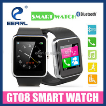 "New Model 1.54"" MTK6261 240*240 Anti Lost Bluetooth 4.0 Smart Watch with Small Camera with SIM Card Slot"
