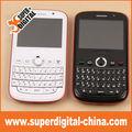 2 sim tarjeta de tv teléfono móvil qwerty celular del wifi de la ayuda, bluetooth, linterna
