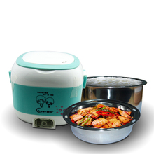 200W multi cooker ceramic pot soup and rice slow cooker