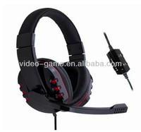 Mutifunction gameing headset For Playstation-4 Gaming headphones