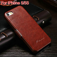 Hand made waterproof engraving cell phone case pouch for Iphone 5 5S