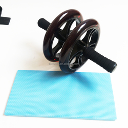 Dual Ab Roller Wheel - The Perfect Abdominal Exercise to Tone your Core Muscles