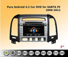 9 Inch Dashboard Car Dvd Player 2 Din Navigation System For Hyundai Santa Fe