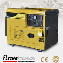2kw portable generating, 2.5kva diesel electric standby power genset for outdoor works use