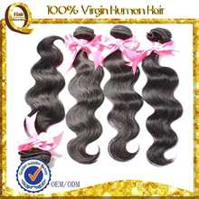Top Quality Virgin Human Hair Extensions grizzly rooster feathers for hair extensions