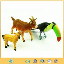 Custom Plastic Animal Toys bird/Plastic wild Animal Toy For Kid