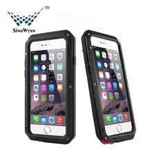 Newest Extreme Shockproof Dust Dirt Proof Aluminum Metal Military Heavy Duty Protective Case for iPhone 6