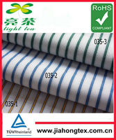Hot sale 100% cotton woven fabric in dobby stripe