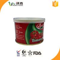 China Supplier produce Crop 2015 2.2kg with plastic ccover Hard Open double concentrated canned tomato paste