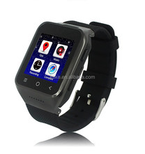 2015 Dual Core Wrist Consumer Electronics Android 4.4 Watch 3G CDMA/GSM GPS Smart Watch Phone With Skype