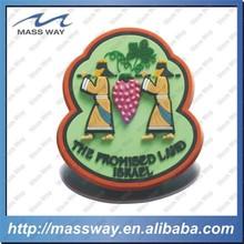 sound souvenir rubber custom 3D soft PVC fridge magnet