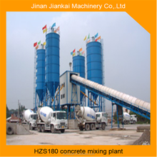 precast self-loading single measure hzs180 concrete batching plant with 25m3 bins
