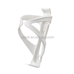 White Bicycle Aluminum Alloy Handlebar Water Bottle Holder Cages