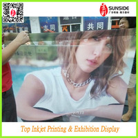 canvas paintings High Quality PVC Mesh Banners GIRL MESH BANNER