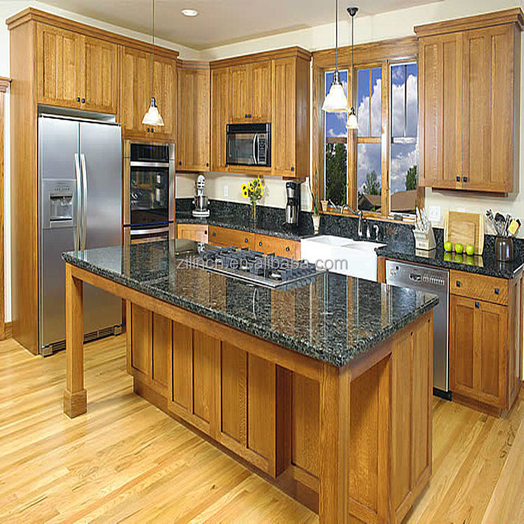 New modern design high quality cheap price of modular for Inexpensive wood kitchen cabinets