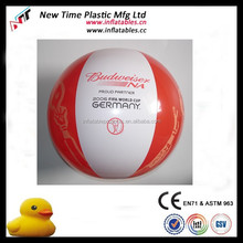 Wholesale Custom Inflatable Branded Beach Balls In Bulk