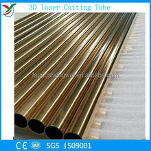 Accept all kinds of 3D laser cutting tube with material copper