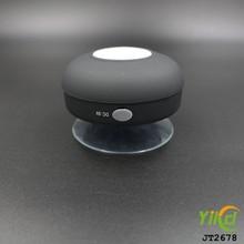 New hot sale suck type mp3 multimedia player bathroom fashion color bluetooth speaker waterproof suck bluetooth speaker