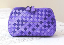2015 Lady's Rhombus Picture Bag Unique Make-up Bag Designer Cosmetic Bag with Cheap Price