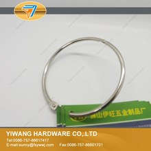 fashional and most competitive industrial open metal book ring
