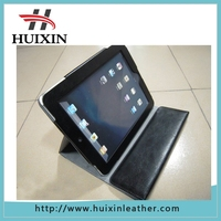 Wholesale high quality pu and genuine leather 7 inch tablet case