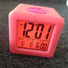 Home Decoration Backlight Clock Alarm