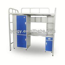 Cama de beliche dormitório com armário