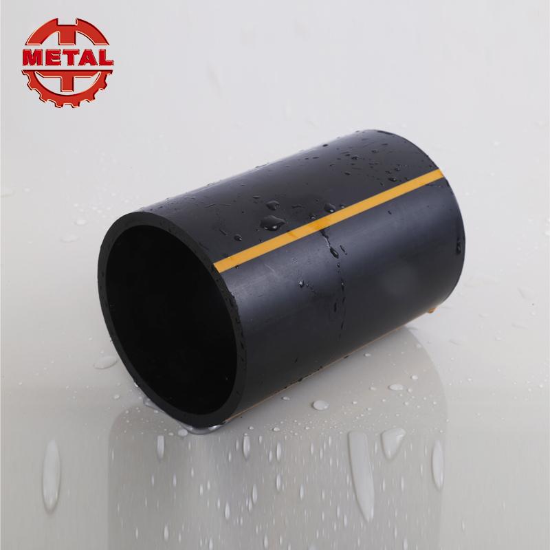 Encaixes de tubulação da linha de água de plástico preto