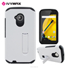 White color mobile case for motorola e2 cell phone accessories