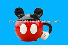 Hot sale mini mikey ceramic mugs gift