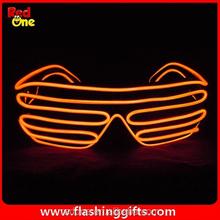 Hot EL Wire product new proudct party shutter glasses chrismas decoration