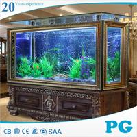 PG wholesale large acrylic plexiglass aquarium fish tank