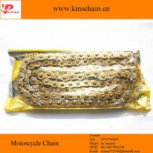 428H oro cadenas de accesorios de motos 428H