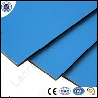 Wall Decoration Material ACP High Quality 3mm 4mm PVDF Coated 2mm Aluminium Composite Panel
