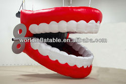 giant inflatable tooth for advertising