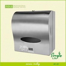 Sensor paper dispenser of hand towel,jumbo roll paper dispenser,stainless steel 304 paper dispenser