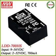 Meanwell 48v to 36v dc converter 700ma LDD-700HS