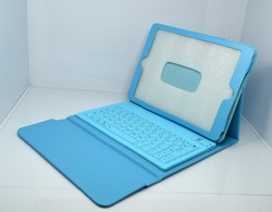 promotional keyboard cover leather case for IPAD AIR