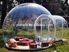 Hot!! Nova 2015 clara de grama inflável da barraca, bolha inflável barraca para venda