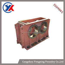 China Gold Suppiler High Quality Strong Exciting Force Iron Cast Vibrating Exciter casting ,grey iron & nodular cast iron