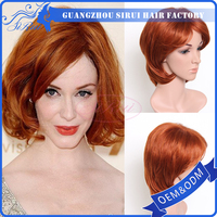 short straight bob style wig , bob u part wig , short glueless lace wig