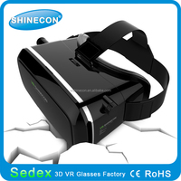 2015 vr shinecon best quality best price on China alibaba virtual reality 3d glasses portable 3d glasses vr for your smartphones