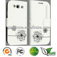 Wallet leather case for Samsung galaxy S3,Samsung i9300 case