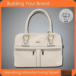 Fashion wholesale pu imitation brand handbag