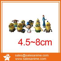 Anime Minion Action Figure Children/adult Gift Toy minion figure statue10pcs Set