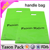 Yason plastic bags with adhesive tape hdpe garbage bag plastic bag with cut handle