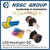 2015 2500LM, 24W COB Led Head Light/Bulb, High/Low(H4/H7/H8/H10/H13/H16/9004/9005/9006/9007/9012)Led Head Lamp CE, Rohs