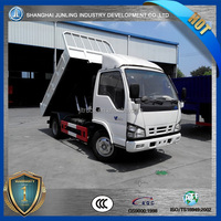 Chinese NQR 2~6ton payload mini dump truck with 4x2 4x4 two models choice