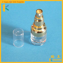 china made hot sale 30ml cosmetic lotion pump foundation square glass bottle